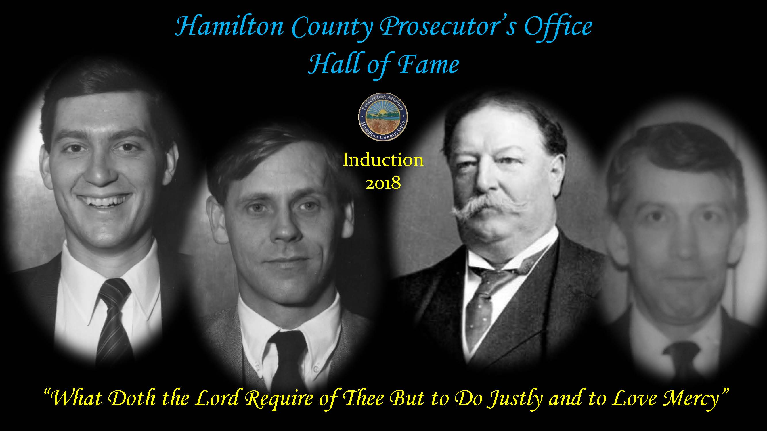 Prosecutor Hall of Fame Inductees June 2018
