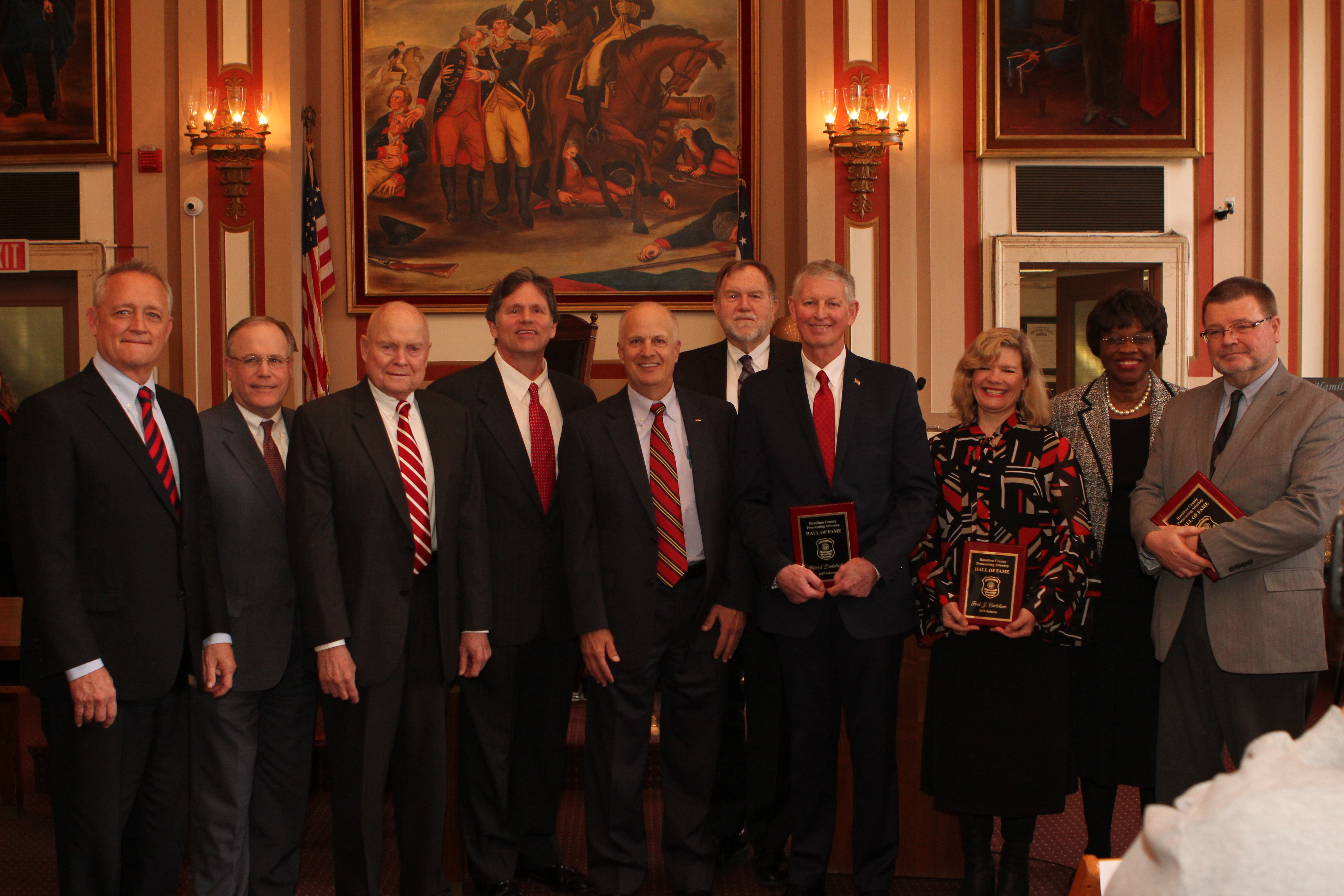 Images from Prosecutors Hall of Fame