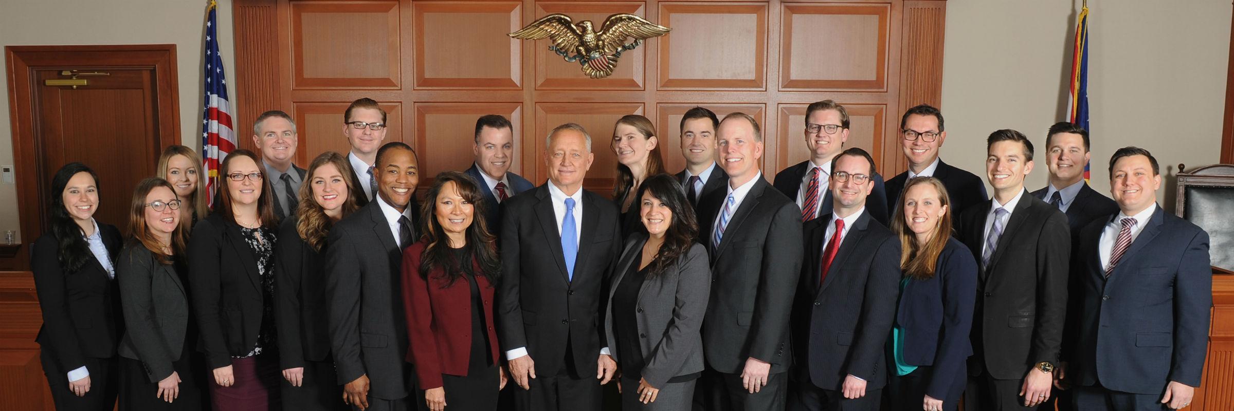 Municipal and Juvenile Staff with Prosecutor Joseph T Deters